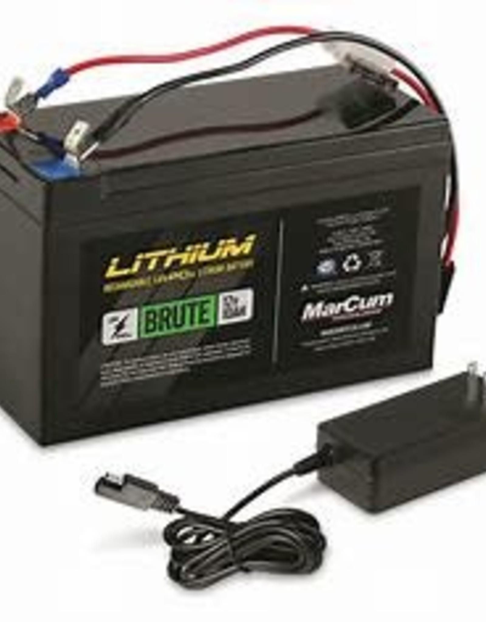 Marcum 12V 10AH LifePO4 Battery amd 3amp Charger