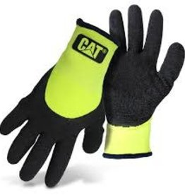 CAT High Visibility Lined String Knit Gloves