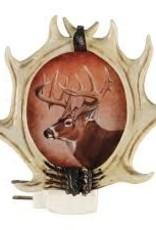 RIVERS EDGE Automatic Nightlight Whitetail Deer Antlers