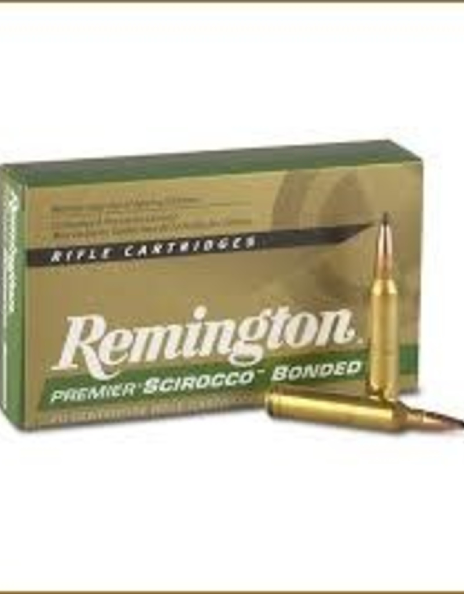 Remington 300 Remington Ultra Mag 180gr Scirocco Bonded