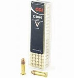 CCI 22 Long Target Copper-Plated Round Nose 29 Grain 100 Count