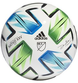 adidas MLS '20 MINI BALL WHT/BLU/GRN