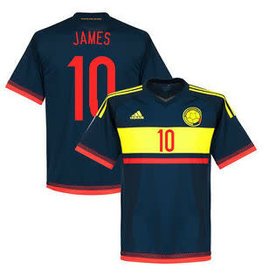"adidas Colombia Away Jersey 2015 ""JAMES"""