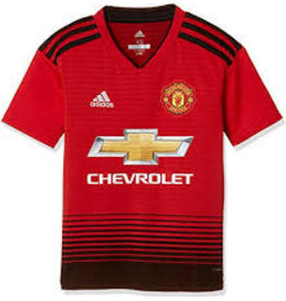 adidas adidas MANCHESTER UNITED YOUTH HOME JERSEY 2018/19 RED/BLK