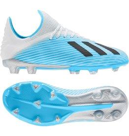 adidas adidas X 19.1 FG J CYAN/WHT