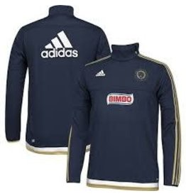 adidas adidas PHILADELPHIA UNION LONG SLEEVE PREGAME TOP 2015