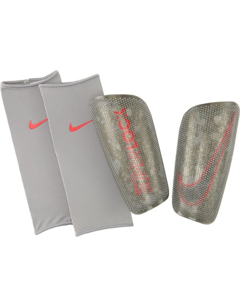 Nike Nike Mercurial Lite Shin Guard GRY/RED
