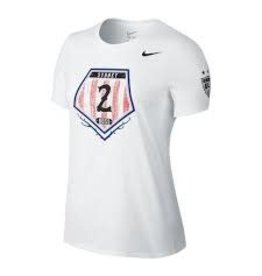Nike nike womens USA SYDNEY LEROUX T-SHIRT