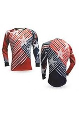 Reusch reusch mens PATRIOTIC 2 PF LONG SLEEVE GOALKEEPER JERSEY
