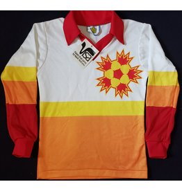 Baltimore Blast MISL Admiral Jersey White/Yellow/Orange/Red YM