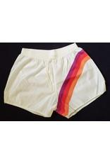 Shez Kansas City Comets MISL Shez Shorts White