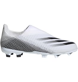 adidas adidas X Ghosted .3 Lace Less FG J White/Black