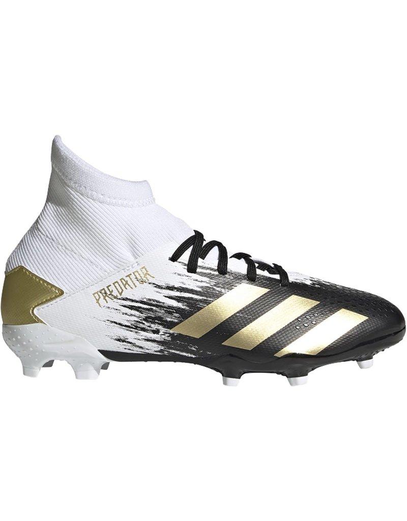 adidas adidas Predator 20.3 FG J White/Black/Gold