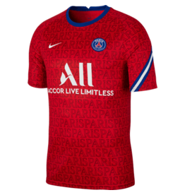 Nike Paris Saint Germain Youth Prematch Top 20/21