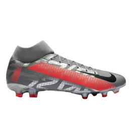 Nike Nike Mercurial Superfly VII Academy Multi-Ground Cleats (Grey/Crimson)