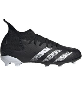adidas Predator Freak .3  FG J Black/White