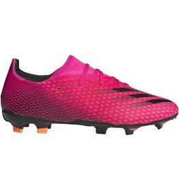 adidas X Ghosted .3 Firm Ground Pink/Black