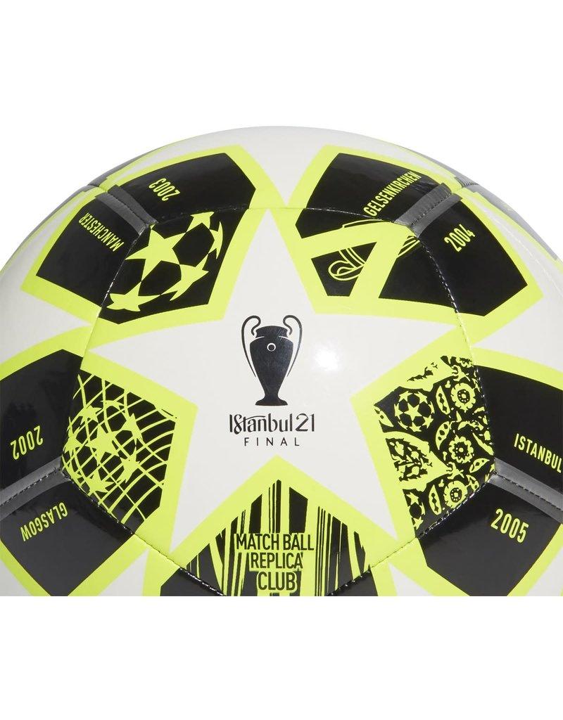Istanbul 21 Finale Club Ball Black/White/Solar Yellow