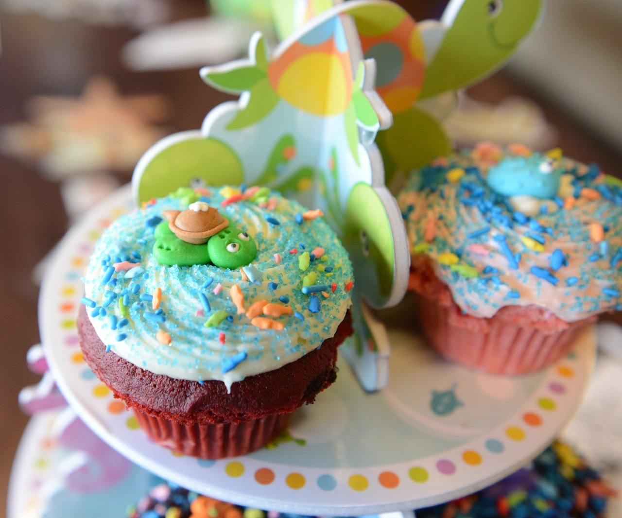 Turtle Cupcake Decoration