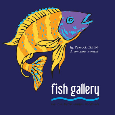 Fish Gallery Fish Gallery Navy Cichlid Shirt