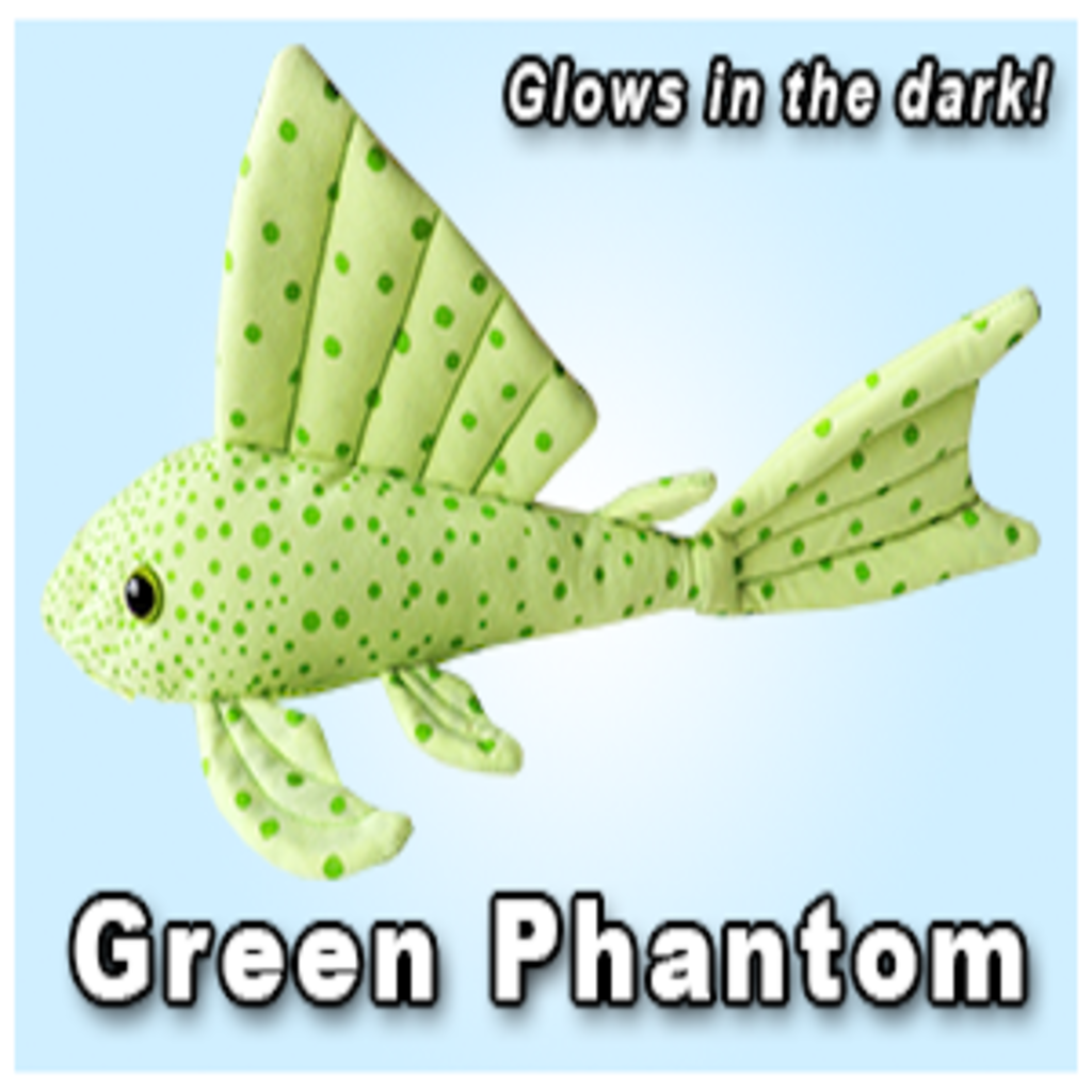 "Green Pleco 12"" Green Phantom Pleco"