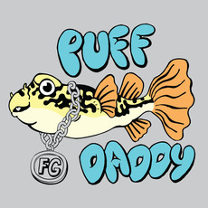 Fish Gallery Fish Gallery Grey Puff Daddy T-Shirt