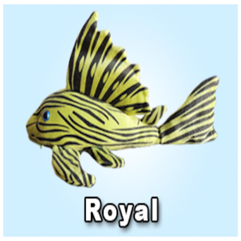 "Green Pleco 12"" Royal Pleco Plushie"