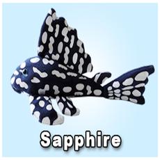 "Green Pleco 12"" Sapphire Pleco Plushie"