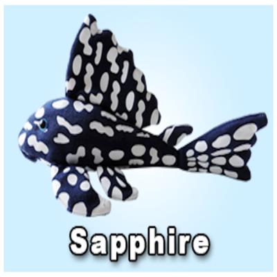 """Green Pleco 12"""" Sapphire Pleco"""