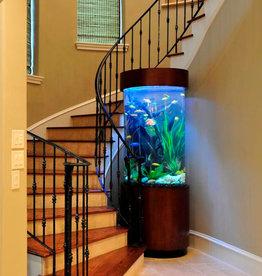 Acrylic & Glass Exhibits 120 Gallon Cylinder