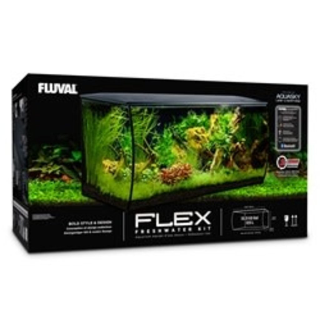 Hagen Products Fluval Flex Aquarium Kit 32.5 G - Black