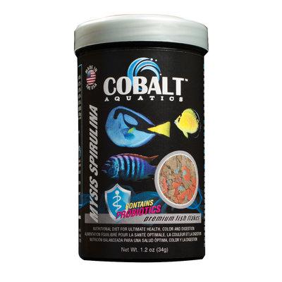 Cobalt Aquatics Cobalt Mysis Spirulina Flake 1.2oz