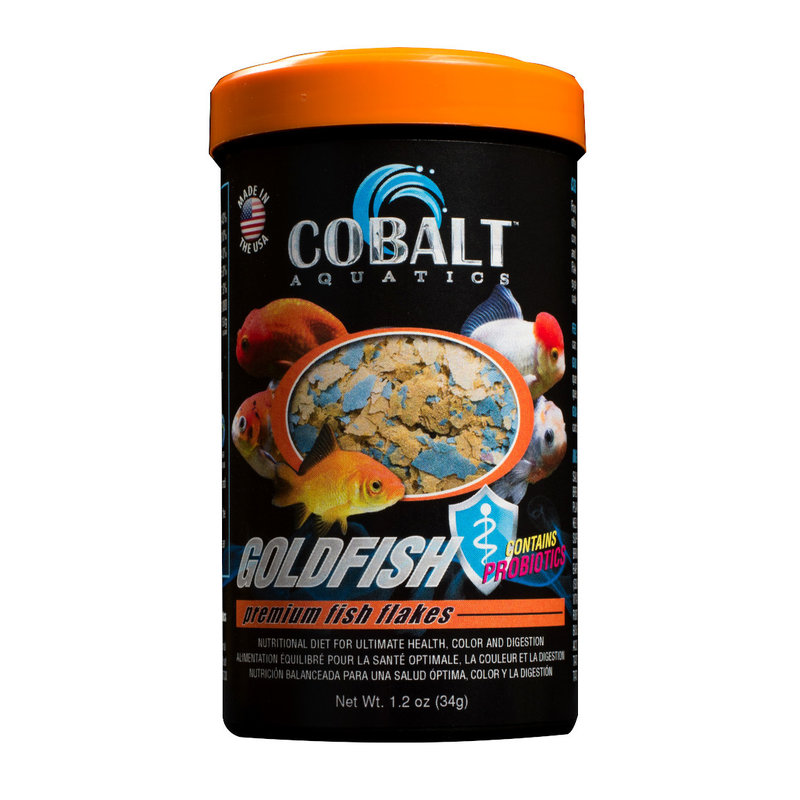 Cobalt Aquatics Cobalt Goldfish Color Flake 1.2oz