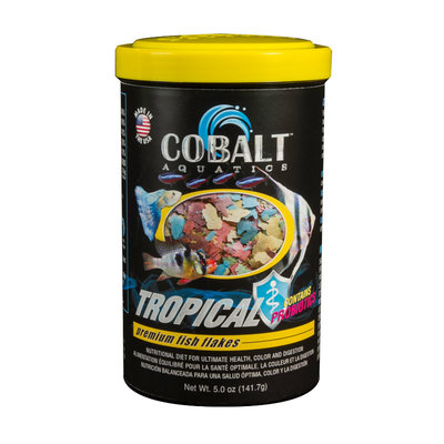 Cobalt Aquatics Cobalt Tropical Premium Flake 5oz