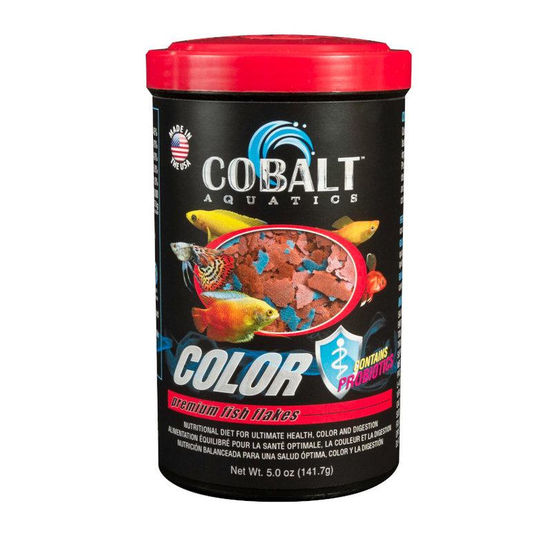 Cobalt Aquatics Cobalt Color Premium Flake 5oz