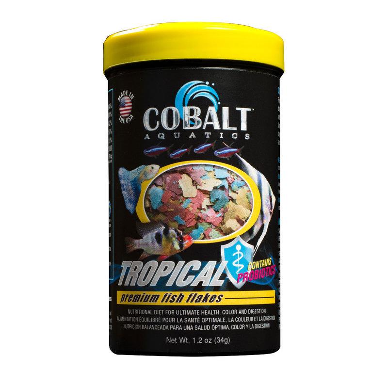 Cobalt Aquatics Cobalt Tropical Premium Flake 1.2oz