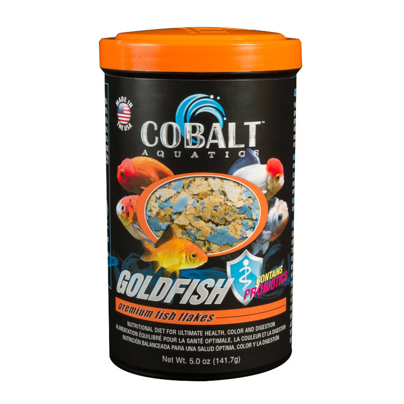 Cobalt Aquatics Cobalt Goldfish Color Flake 5oz