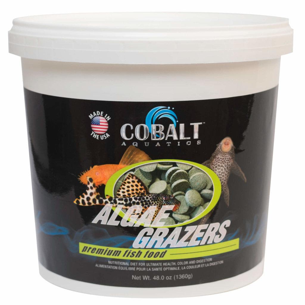 Cobalt Aquatics Cobalt Algae Grazers Tub 6lb