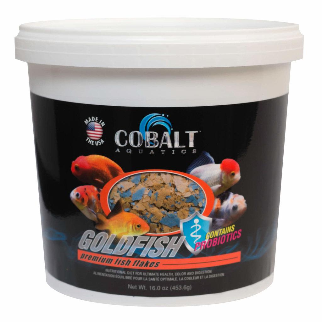 Cobalt Aquatics Cobalt Goldfish Flake Tub 2lb