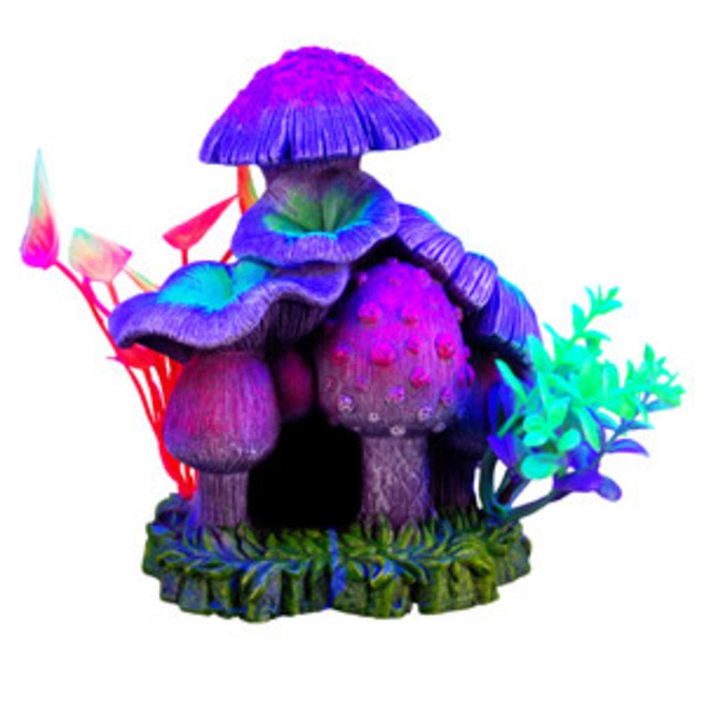 "Hagen Products iGlo Mushroom House 6"""