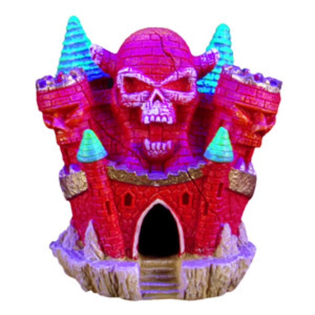 "Hagen Products iGlo Skull Castle 4"""