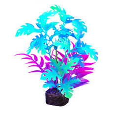 Hagen Products iGlo Plant Green/Blue - Philddendron 7.5""
