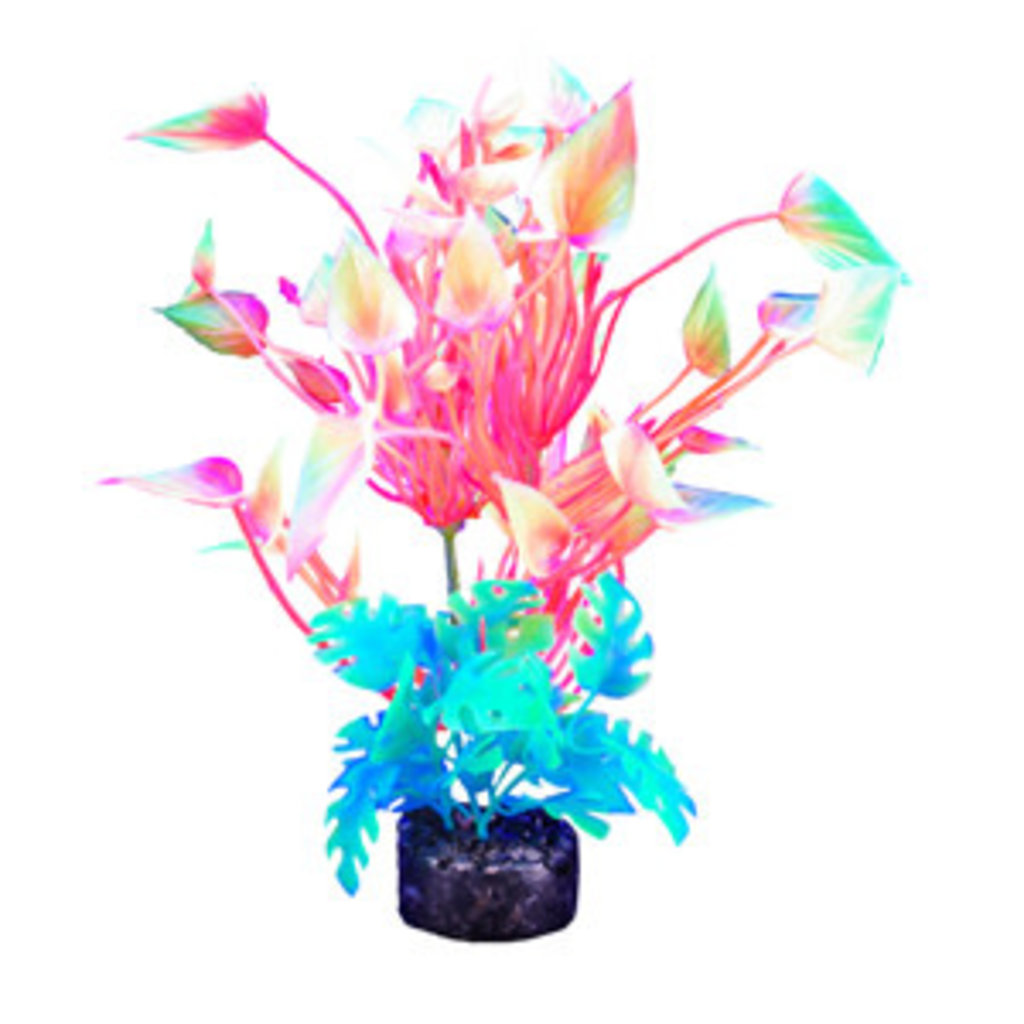 "Hagen Products iGlo Plant Yellow/Orange/Pink - Arrowhead 5.5"""