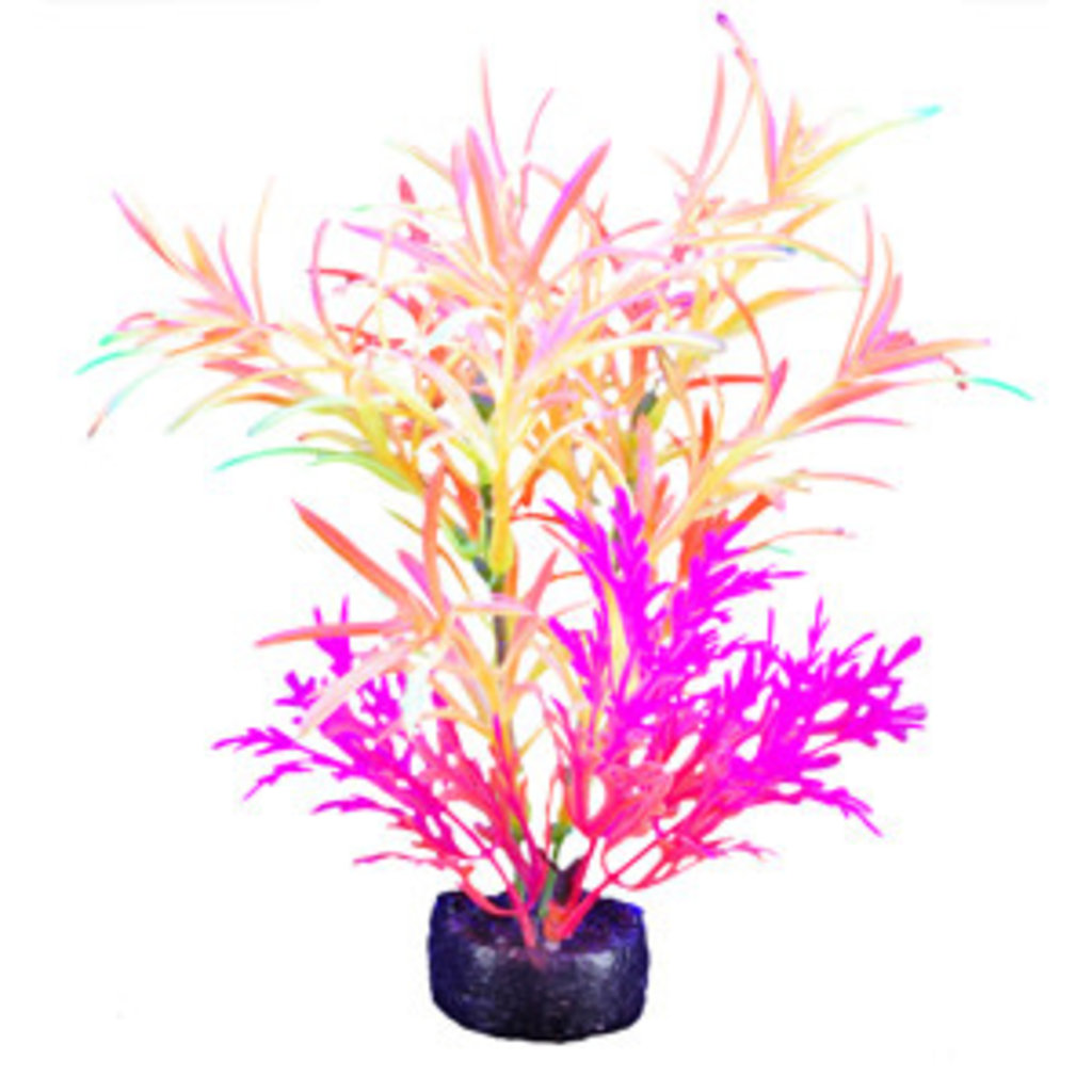 Hagen Products iGlo Plant Orange/Yellow/Pink - Fountain Plant 5.5""