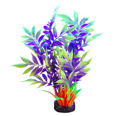 Hagen Products iGlo Plant Yellow/Purple - Wide Leaf Bamboo 7.5""