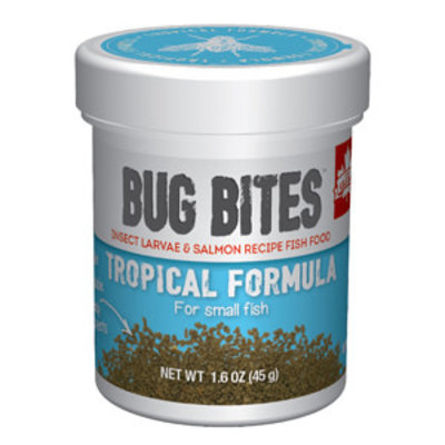 Hagen Products Bug Bites SM Tropical Fish Granules 1.6oz