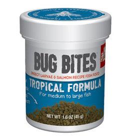 Hagen Products Bug Bites M/L Tropical Fish Granules 1.6oz