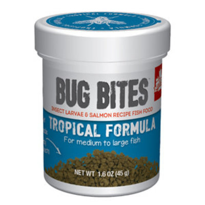 Hagen Products Bug Bites M/L Tropical Fish Granules 1.6oz