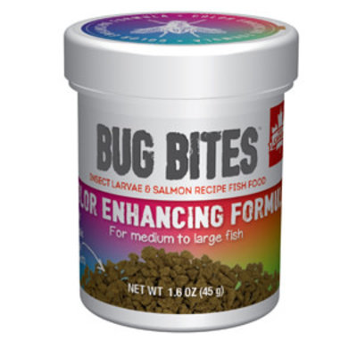 Hagen Products Bug Bites M/L Color Enhancing Granules 1.6oz