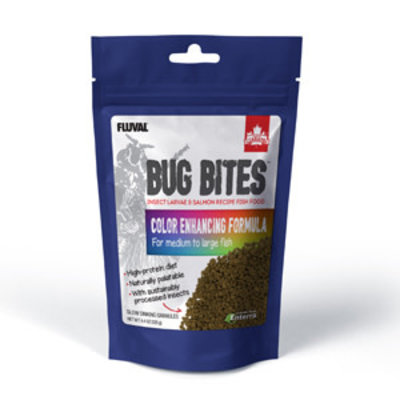 Hagen Products Bug Bites M/L Color Enhancing Granules 4.4oz